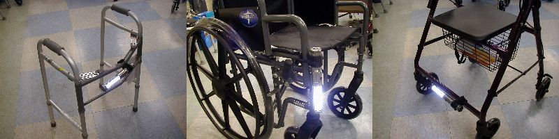 Cane Walker Wheelchair